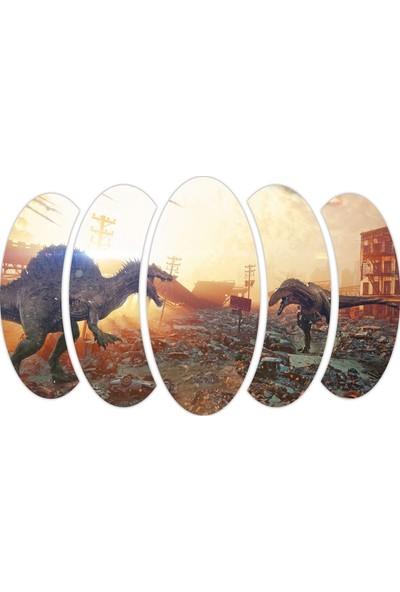Renkselart Dinozor Mdf Tablo 2401