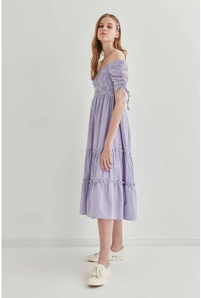 Vitrin Kareli Elbise