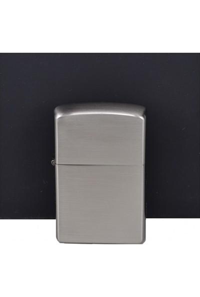Jobon Çift Fonksiyonlu Çelik Depo Jet Çakmak Gümüş