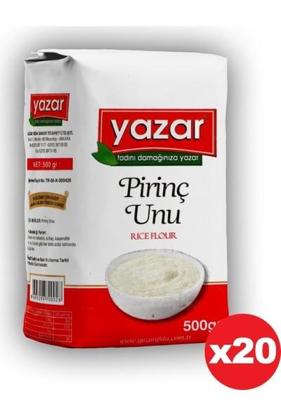 Yazar Pirinç Unu 500 gr 20' li