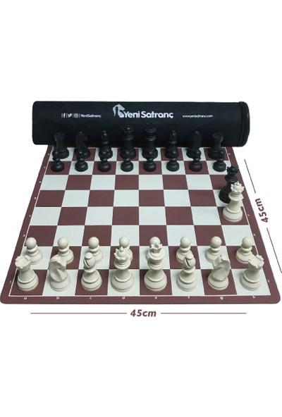 Profesyonel Satranç Takımı (95mm - Ağırlıklı - Yedek Vezirli)