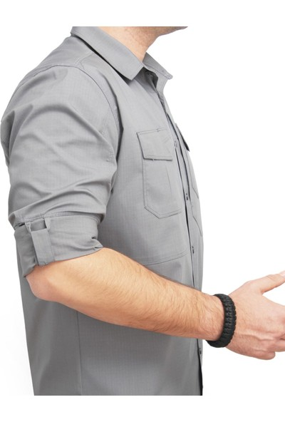 Yds Tactıcal Gömlek -Gri (Güçlü Ve Esnek Tactical Gömlek)