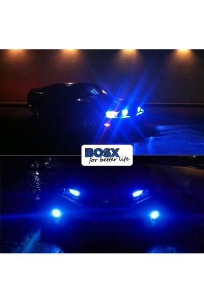 C9 Bosx Ultra Deli Mavi LED Xenon Far Ampulü 4400LM 15000K H7