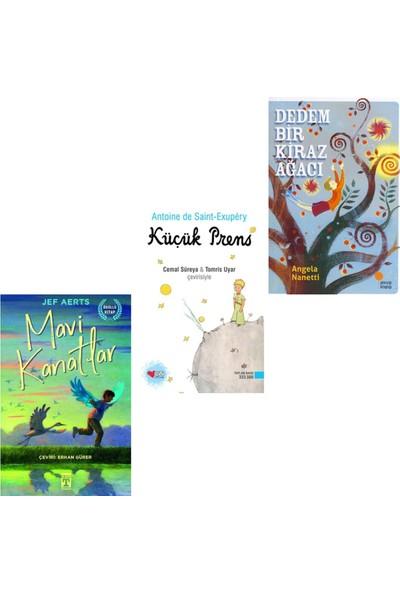 Mavi Kanatlar - Küçük Prenses - Dedem Bir Kiraz Ağacı ( 3 Kitap )