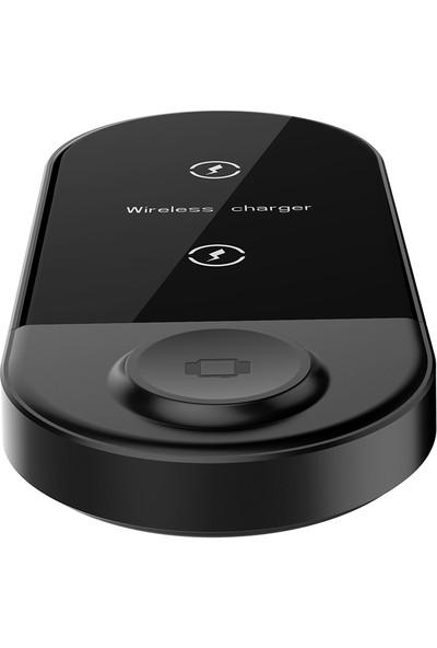 Anself X416 3'ü 1 Arada Şarj Cihazı Katlanabilir Telefon Tutacağı