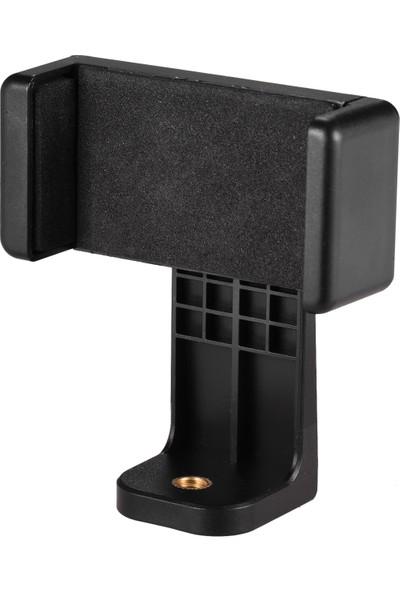 Anself Smartphone Kelepçe Tutucu Telefon Montaj Adaptörü Telefon