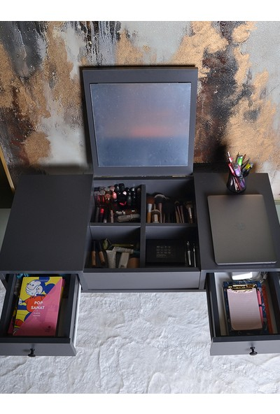 Poladik Home Dekoratif Makyaj ve Çalışma Masası