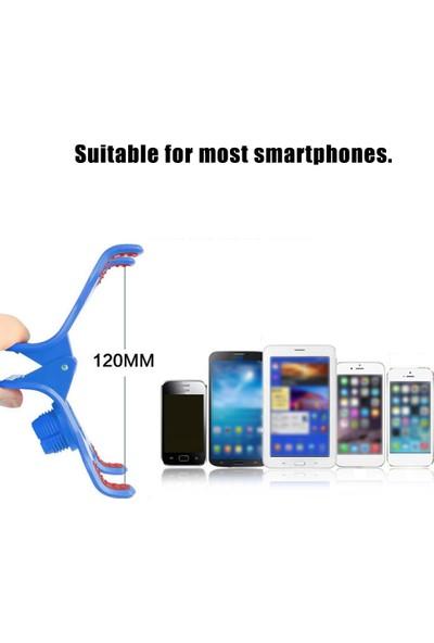 Anself Taşınabilir Cep Telefonu Braketi Klipsli Akıllı Telefon