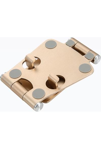 Anself Z16 Alüminyum Alaşım Çift Katlanır Tasarım Telefon
