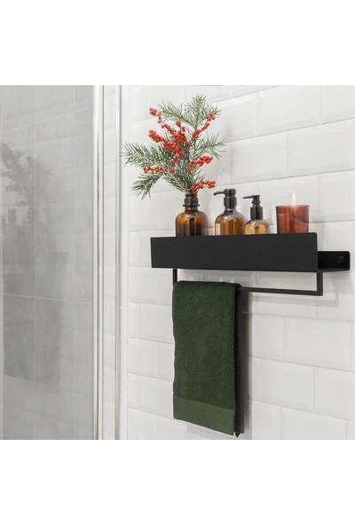 Abronya Banyo Askısı Metal Banyo Askısı Havluluk Duvar Askısı
