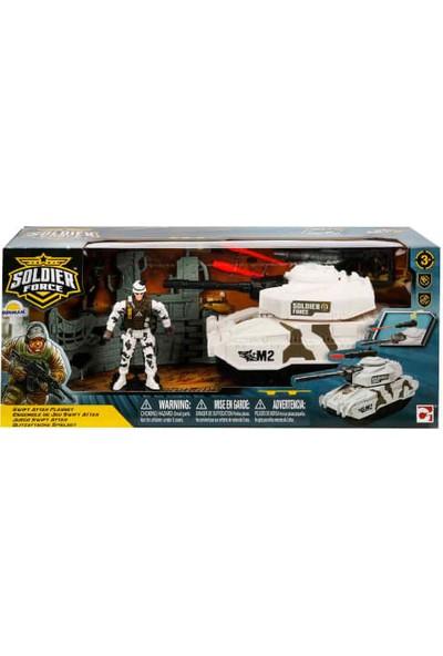 Soldier Force Rapidfire Askeri Araçlı Oyun Seti Tank