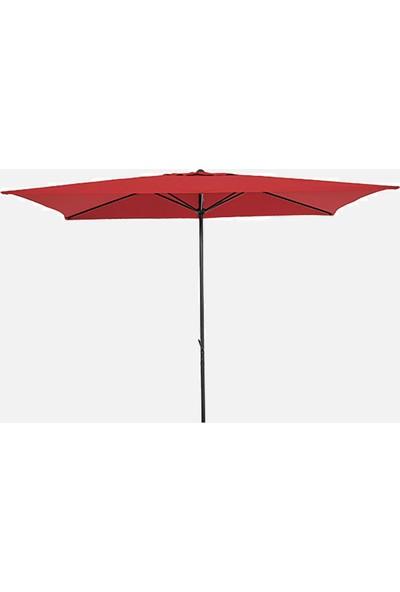 Sunfun Venetien Şemsiye - 200X300 cm - Kırmızı - Ürün Güneşten Korunma Için Uygundur