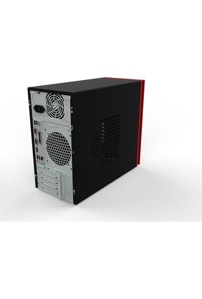 Exper Flex DEX100 FG Intel Core i5 10400F 16GB 480GB SSD GT710 Windows 10 Pro Masaüstü Bilgisayar