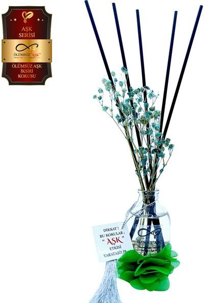 Aşk-ı Sermest Ölümsüz Aşk Aşk Serisi Ölümsüz Aşk Ixiri Kokulu 10 x 50 ml Oval Şişe Bambu Çubuklu Ortam Kokusu