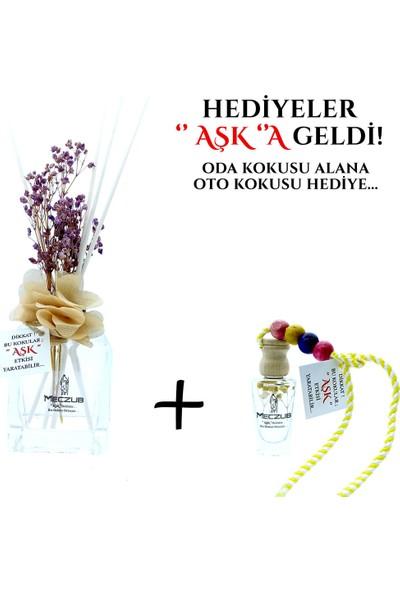 Aşk-ı Sermest Meczub Parfüm Serisi Gioo Armanii Kokulu 5 x 120 ml Küp Şişe Bambu Çubuklu Ortam Kokusu