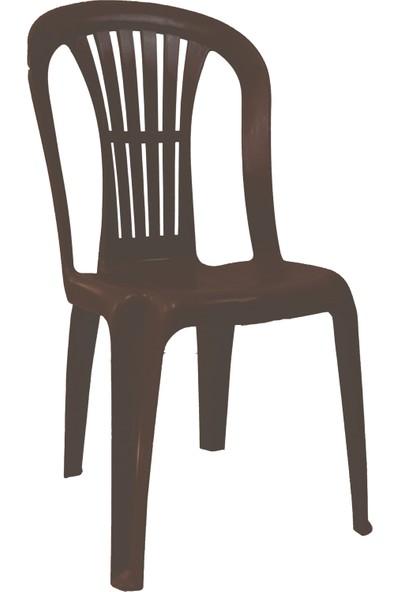 Romanoset Plastik Romanoset Selin Kolsuz Plastik Sandalye 10 Lu Set