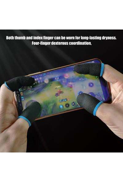 Kılıf Benim Pubg Mobile Profesyonel Anti Ter Önleyici Ithal 1 Çift 2 Adet Parmak Eldiven