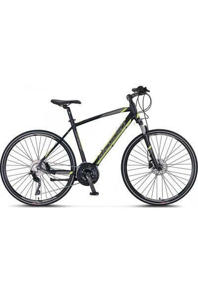 Mosso LEGARDA-2130-MSM-H-410H Şehir Bisikleti 28 Jant 30 Vites Siyah Lime