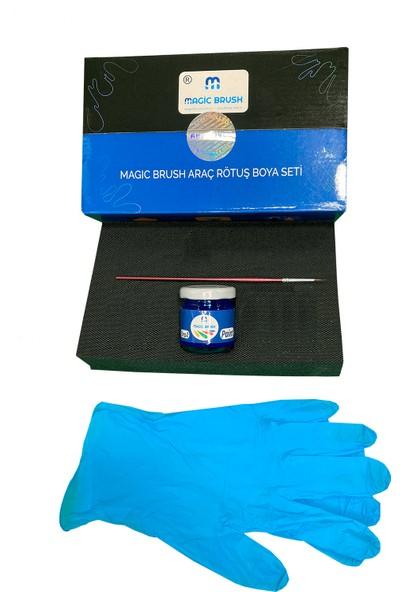 Magic Brush Temel Kit   Chevrolet Impala Black Meet Kettle Met WA384A Rötuş Boyası