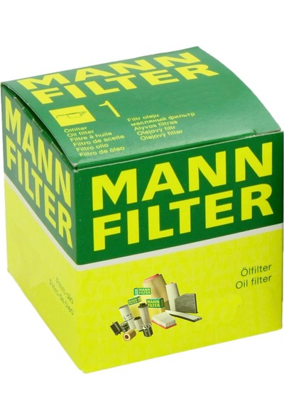 Mann Bmw X3 3.0 Si 2003-2011 Yağ Filtresi