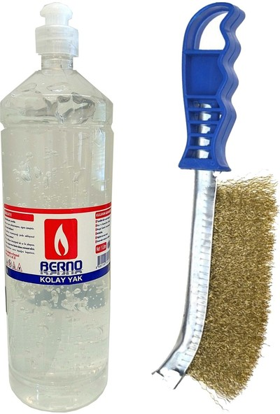 Homecare Berno Tutuşturuma Jeli Mangal Temizlik Fırça Set