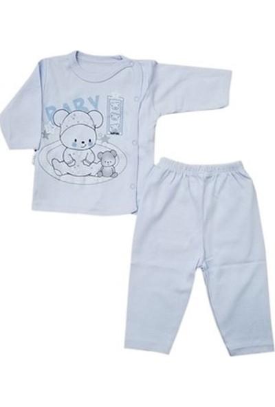 Hoppala Baby Patiksiz Baby Bear Zıbın Mavi