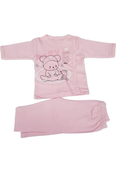 Hoppala Baby Patiksiz Baby Bear Zıbın Pembe