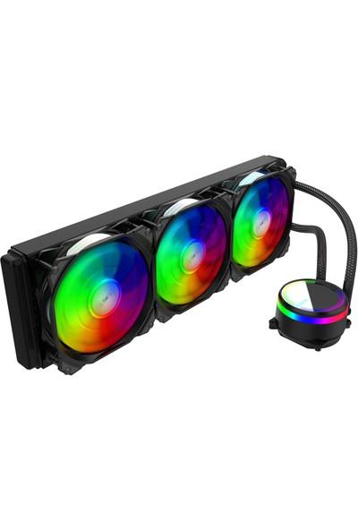 Alseye M-360 (Black) Rgb Sıvı Soğutma