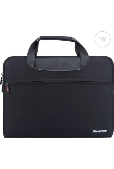 Haweel MacBook Pro 16 Inch A2141 A2142 (2020/2021) Darbe Önleyici Su ve Toz Geçirmez Taşıma Çantası