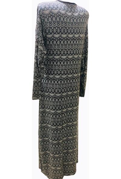 Mefa Namaz Elbisesi Viskon Pamuklu Bağlamalı Namaz Elbisesi
