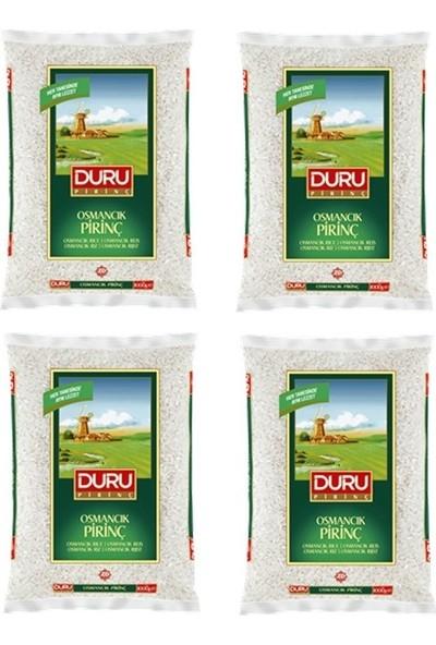 Duru Osmancık Pirinç 1 kg x 4'lü