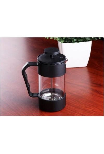 Gönül French Press 350 ml. Silikonlu Bitki Çayı Demleme - Kahve Potu G2654