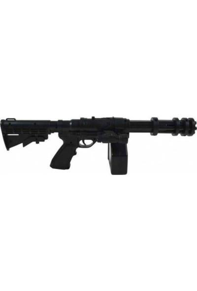 Brs M686A 6 mm Boncuk Mermi Atan Lazerli Siyah Oyuncak Sılah 48 cm