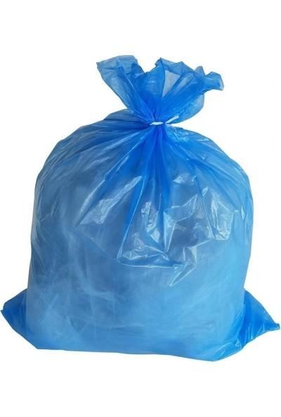 Çöp Torbası Poşeti Mavi Rulo 100X150 Hantal (Koli:10 Rulo)