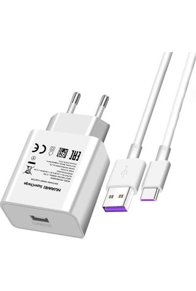 Huawei Supercharge 22.5W Hızlı Şarj Aleti ve Type-C Kablo