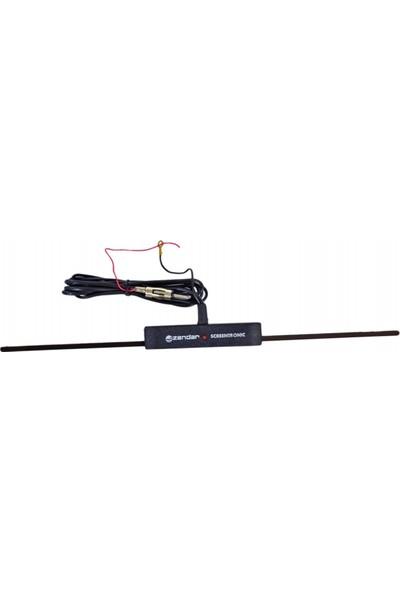 Zendar Y-400 Elektronik Cam İçi Anten Işıklı BR0035001