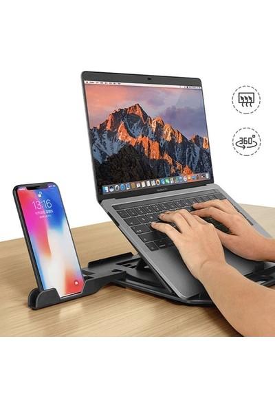Ally Yükseklik Ayarlı Dizüstü Laptop-Tablet Standı Telefon Tutucu AL-33667