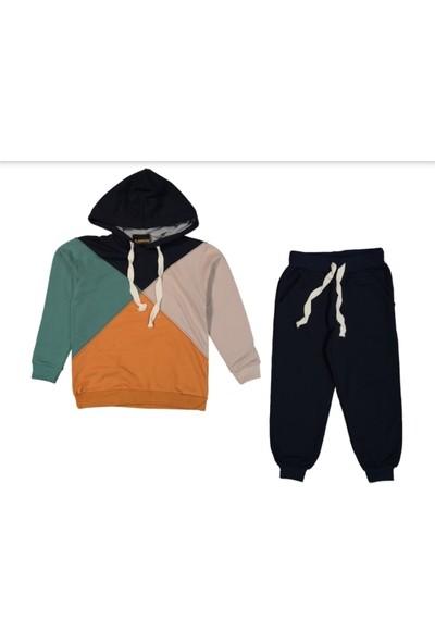 Mutti Erkek Çocuk Dört Renkli Parçalı Eşofman Takımı