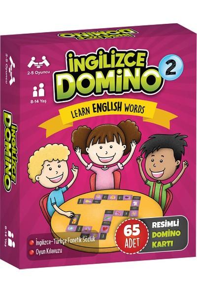 Tes Ingilizce Domino 2 Kelime Öğrenme Oyunu