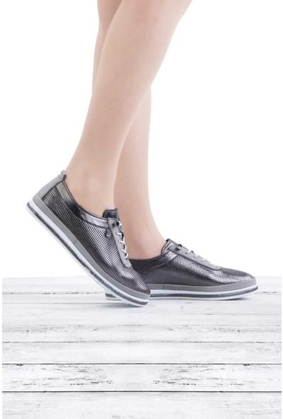 Voyager Ayakkabı Hakiki Deri Günlük Kadın Ayakkabı