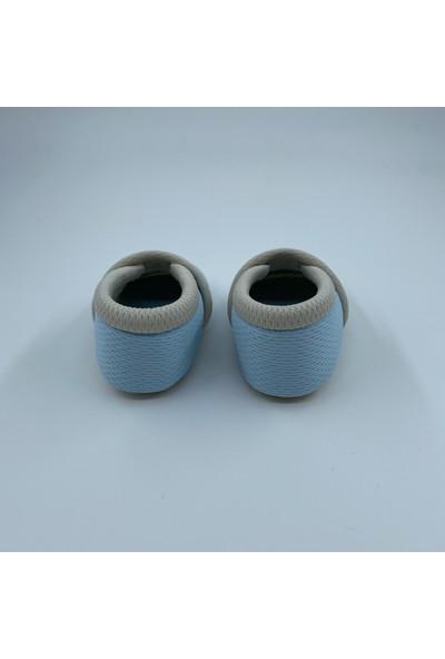 Candyron Bebek Bez Patik - 3 Katmanlı - Açık Mavi