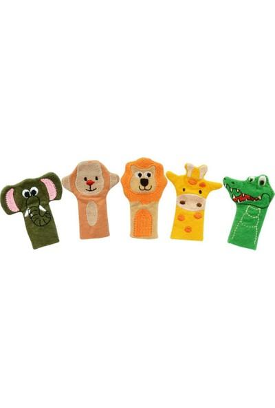 Anki Toys Vahşi Hayvanlar Parmak Kukla Seti