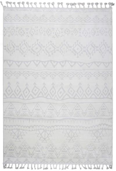 Metraj Halı Çam Halı Libas LB1612 Beyaz Bej Metraj Halı Iskandinav Tarzı Modern Halı