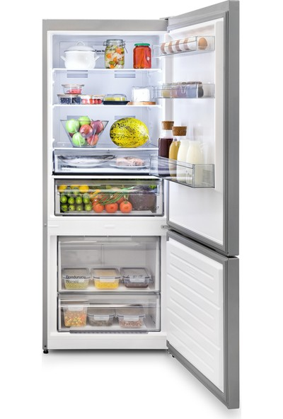 Vestel No-Frost Kombi Buzdolabı NFK48001 X