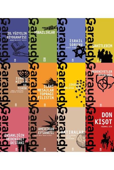 Roger Garaudy 12 Kitap Set / 20. Yüzyılın Biyografisi - Yobazlıklar - Israil Sorunu - Şahitlerim - Medeniyetler Diyaloğu - Amerikan Efsanesi - Hatıralar - Don Kişot