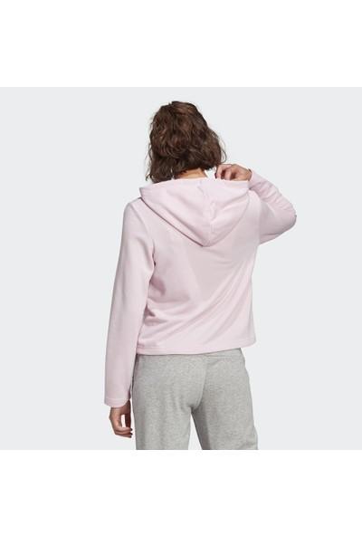 Adidas Essentials Camouflage Logo Hoodie Kadın Sweatshirt