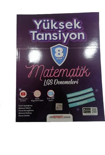 112 Matematik Yayınları Yüksek Tansiyon 8. Sınıf Matematik Lgs Denemeleri