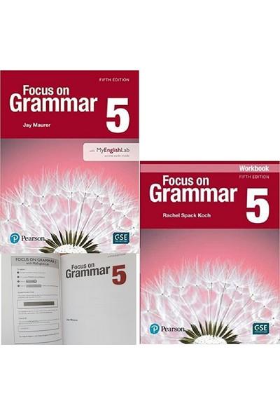 Pearson Education Yayıncılık Focus On Grammar 5 Student's Book + Workbook With Myenglishlab 5th Edition