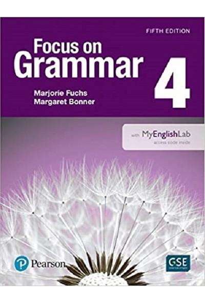Pearson Education Yayıncılık Focus On Grammar 4 Student's Book + Workbook With Myenglishlab 5th Edition