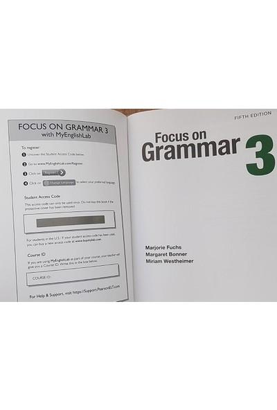 Pearson Education Yayıncılık Focus On Grammar 3 Student's Book + Workbook With Myenglishlab 5th Edition
